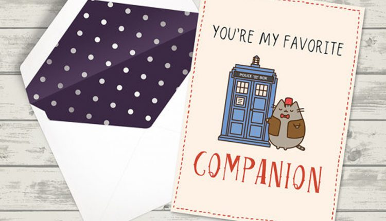 Doctor Who Valentine Cards that Will Melt Your Wibbly Wobbly Heart