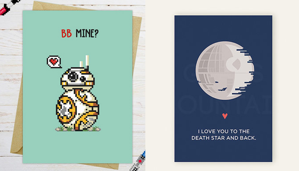 Schön Star Wars Valentine Cards Roundup 2018: The BEST Star Wars Valentines For  Your Geeky Sweetheart
