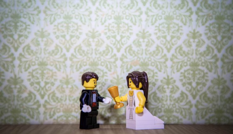 Droolworthy Inspiration for a Lego-Themed Wedding