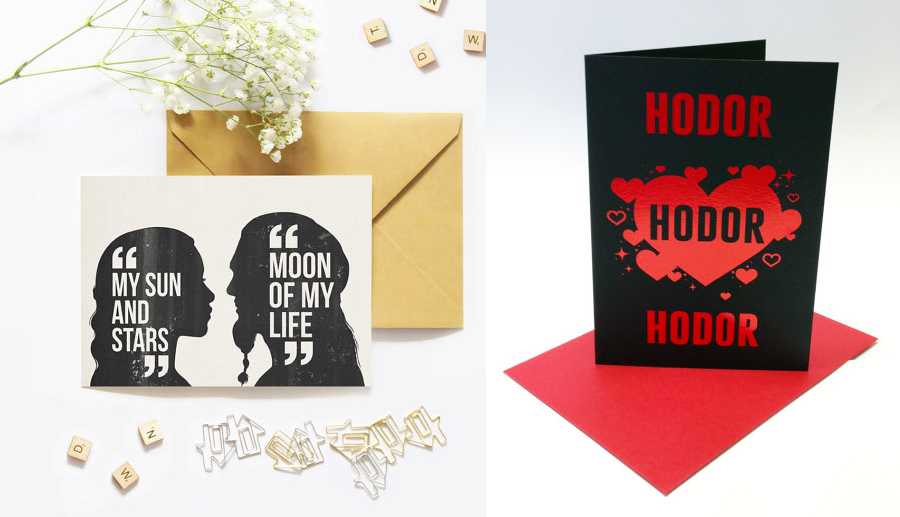 Game Of Thrones Valentineu0027s Day Cards For Any GoT Superfan