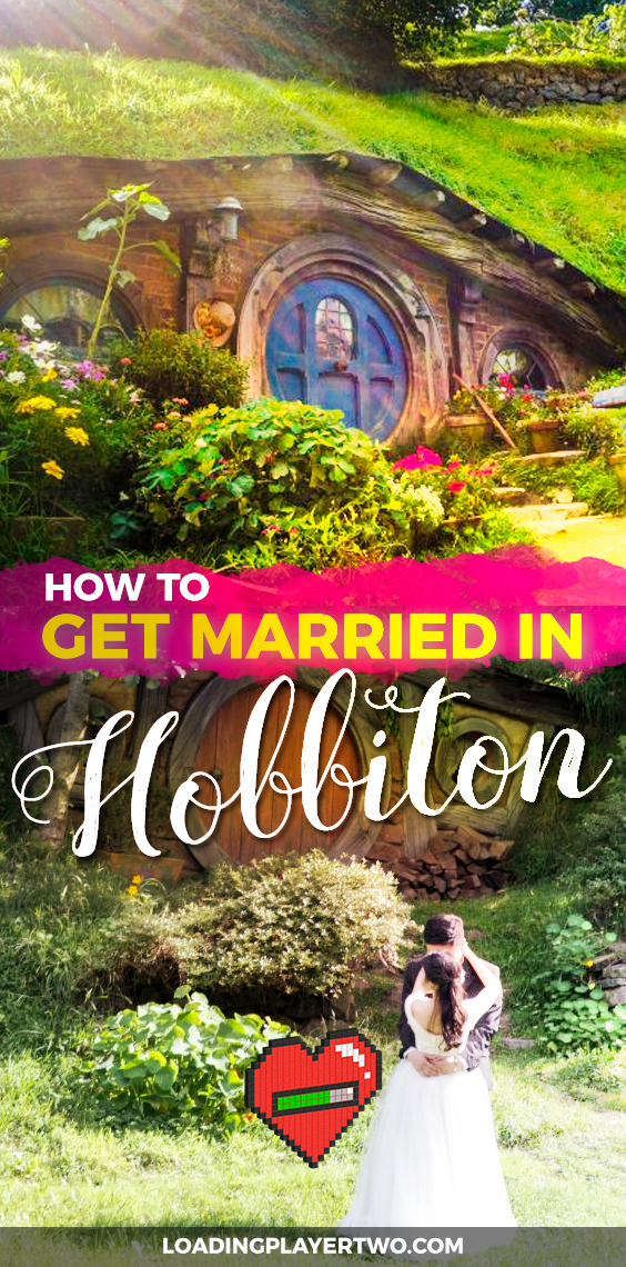BEST idea ever for a Lord of the Rings wedding. Get married in Hobbiton, New Zealand. You can actually have your wedding at the official Lord of the Rings and Hobbit filming location for the Shire. Read on to learn more.