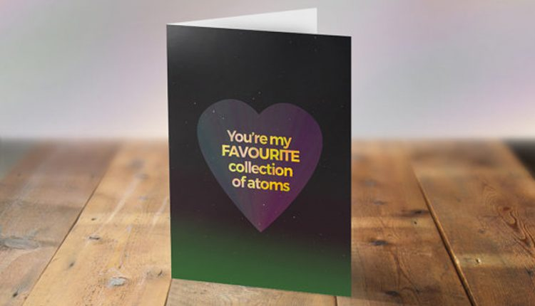 Perfect Valentine's Day Cards for Science Geeks